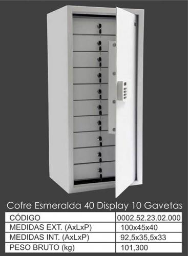 AM Esmeralda 40 Display 10 Gavetas
