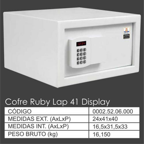 Ruby Lap 41 Display GRD